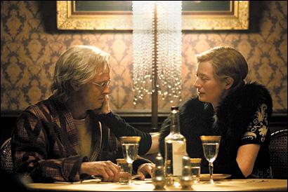 Brad Pitt und Tilda Swinton in The Curious Case of Benjamin Button