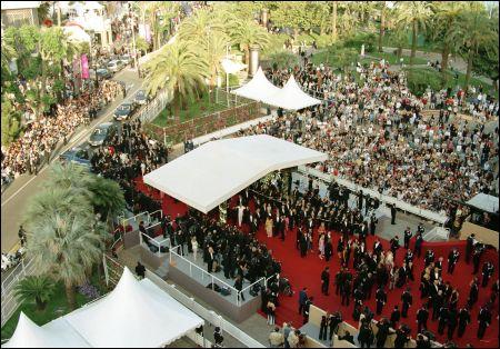 Cannes marches rouges