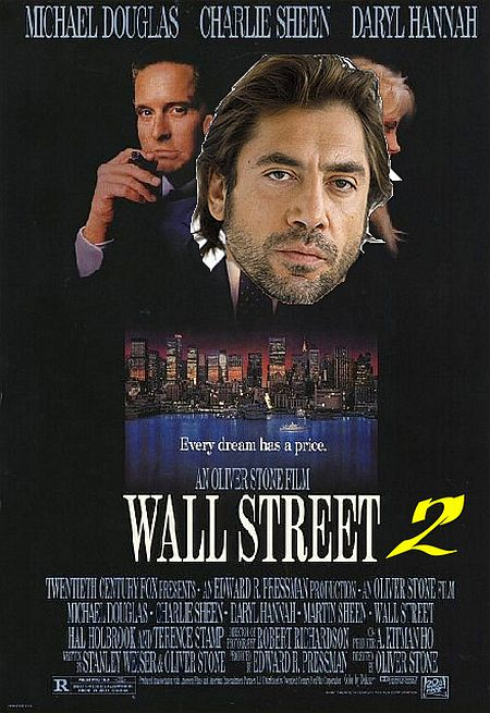 wall street poster 2 montage