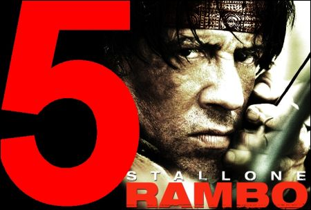 Rambo 5 poster montage