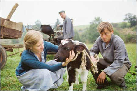 Kathrin (Julia Jentsch) und Johann (Volker Bruch) in 'Tannöd' © pathefilms