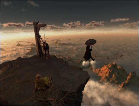 Kommt: Terry Gilliams' 'The Imaginarium of Doctor Parnassus' © pathe