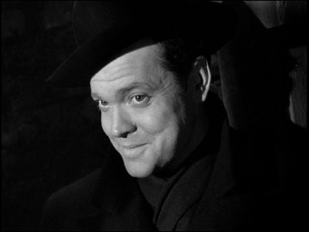 Orson Welles in 'The Third Man' (Carol Reed, 1949)