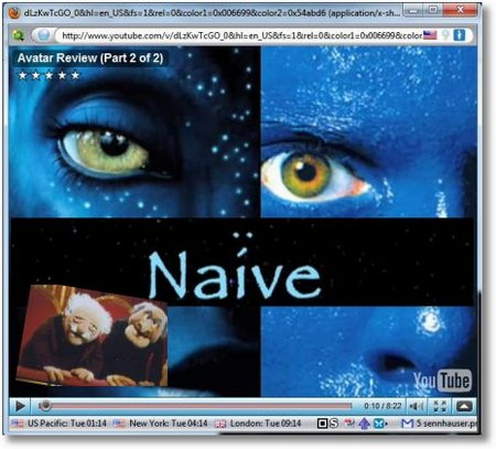Avatar naiv collage