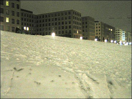 Startbereiter Snöber am Potsdamer Platz (oben links) © Häring