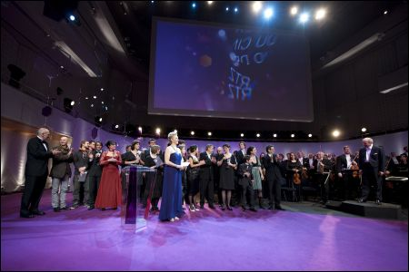 Filmpreisverleihung 2009 im KKL in Luzern