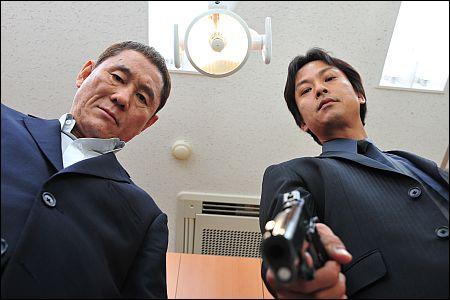 'Outrage' von Takeshi Kitano (links)
