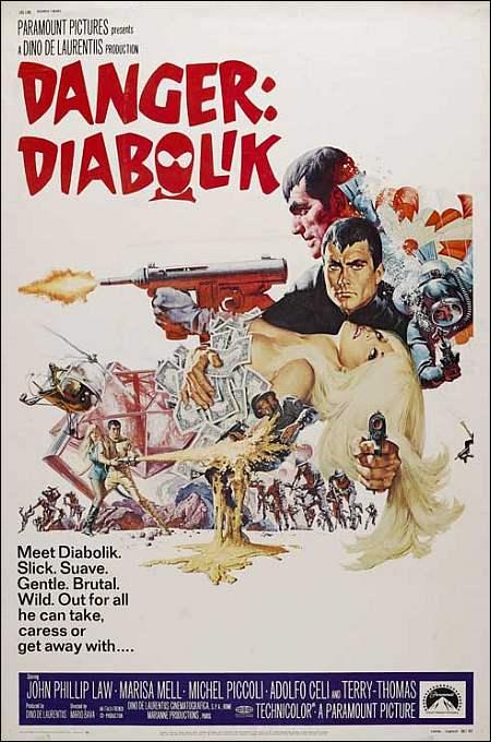 'Danger: Diabolik' von Mario Bava (Poster)