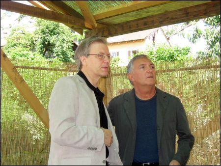 Claude Ruey, Luciano Barisone, visions du réel, Nyon ©sennhauser