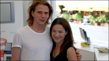 Tim Fehlbaum und Hannah Herzsprung ©Tom Hägler SRF