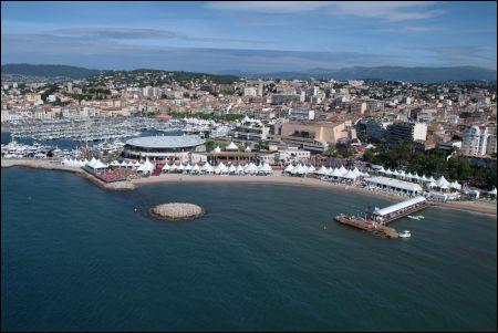 Cannes Marché et Palais des Festivals