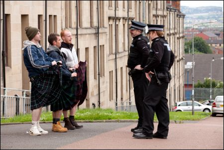 kilted coppers