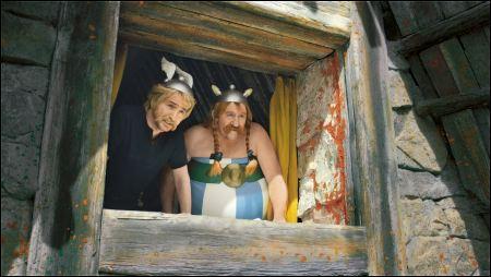 Edouard Baer und Gérard Depardieu sind Astérix und Obelix ©frenetic