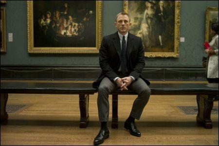 Kunst kommt von Können: Daniel Craig ist James Bond in 'Skyfall' ©Disney