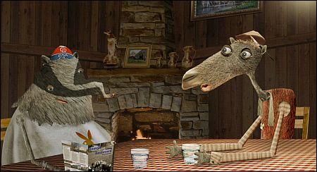 Bester Animationsfilm? 'La nuit de l'ours' von Samuel und Frédéric Guillaume