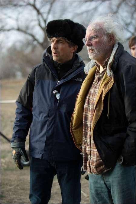 Alexander Payne mit Bruce Dern
