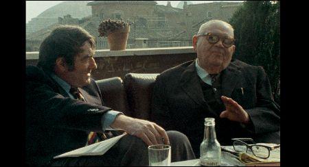 Claude Lanzmann mit Benjamin Murmelstein