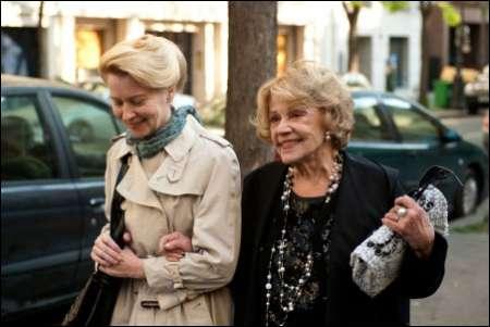 Laine Mägi und Jeanne Moreau: 'Une Estonienne à Paris' ©xenix