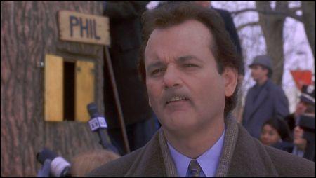 Bill Murray in 'Groundhog Day' von 1993