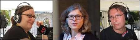 Brigitte Häring, Anke Leweke, Peter Claus