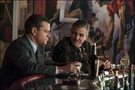 Matt Damon, George Clooney © 2013 Twentieth Century Fox