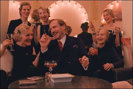 Ralph Fiennes & his merry company in 'The Grand Budapest Hotel' © 20th Century Fox