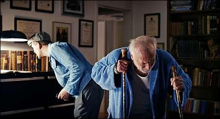 Georg Friedrich als Nick und André Wilms als Ledig © Vega Film