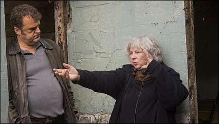 Yolande Moreau mit ihrem 'Henri'- Darsteller Pippo Delbono © filmcoopi