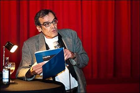 Harun Farocki an der 35. Duisburger Filmwoche