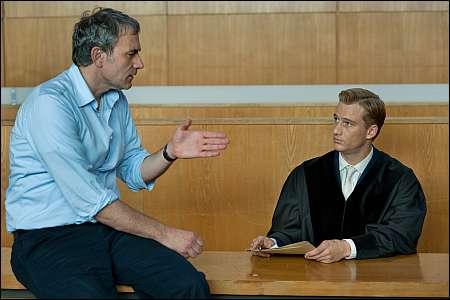 Regisseur Giulio Ricciarelli und sein Darsteller Alexander Fehling © Universal Pictures