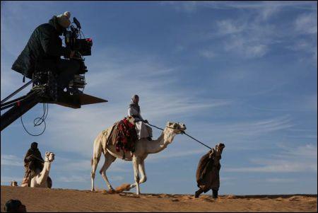 Dreharbeiten zu 'Queen of the Desert' von Werner Herzog © 2013 QOTD