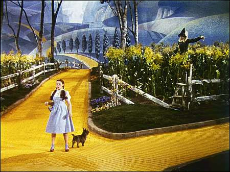 Judy Garland Ray Bolger in The Wizard of Oz Quelle George Eastman House Rochester © 1939 Turner Entertainment Co