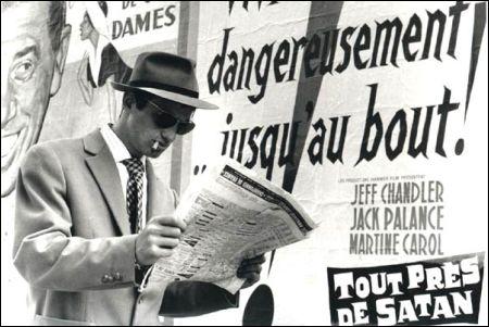 Jean-Paul Belmondo in 'A bout de souffle' (1960)