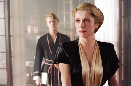 David Bowie und Catherine Deneuve in 'The Hunger' von Tony Scott (1983)