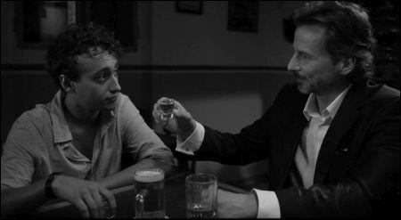 Michael Kai Müller als Tom und David C. Bunners als Chef © Grand Hotel Pictures