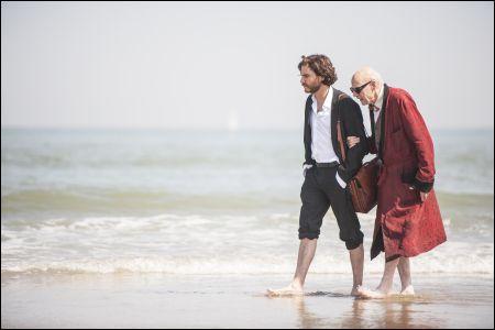Daniel Brühl und Jesper Christensen in 'Ich und Kaminski' © Ascot Elite