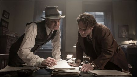 Colin Firth und Jude Law als Perkins und Wolfe © Pinewood Films