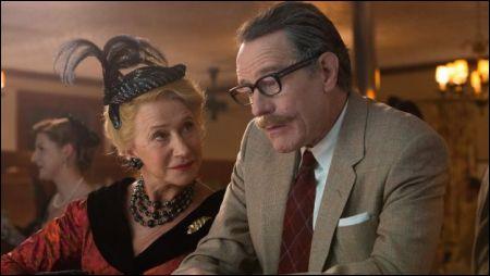 Hedda Hopper (Helen Mirren) und Dalton Trumbo (Bryan Cranston) © Ascot Elite