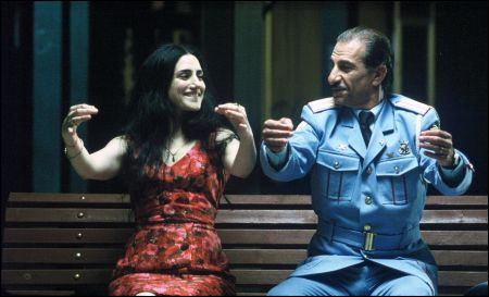 Ronit Elkabetz mit Sasson Gabai in 'The Band's Visit' von 2007 © Xenix