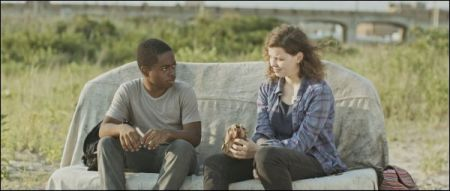 Eric Ruffin und Chloe Levine in 'The Transfiguration' © Xenix