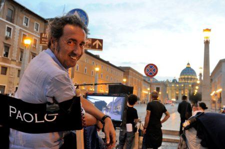 Paolo Sorrentino auf dem Set im Vatikan © Gianni Fiorito