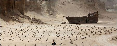 Gestrandet im Wüstenfriedhof: 'A Dragon Arrives' von Mani Haghighi © trigon