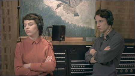 Anja Plaschg und Laurence Rupp lesen Ingeborg Bachmann und Paul Celan © filmbringer