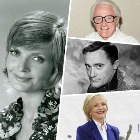 Florence Henderson ('The Brady Bunch') und Robert Vaughn ('The Man from U.N.C.L.E.'