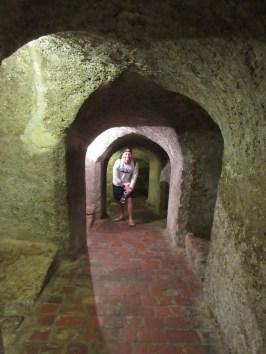 Tunnel-ing at El Castillo