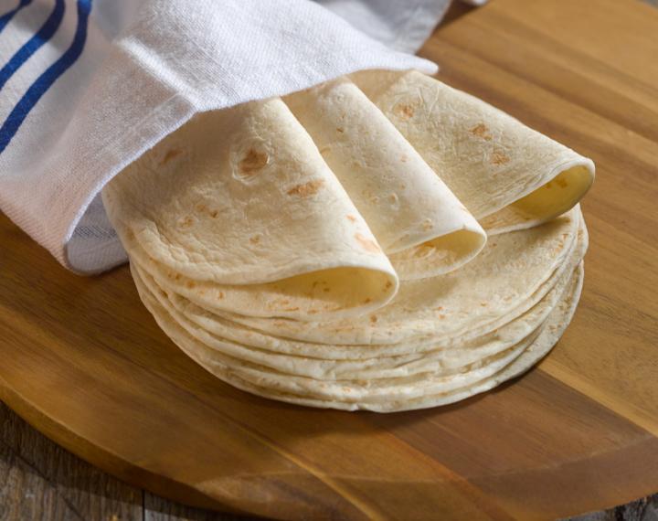 6˝ flour tortillas