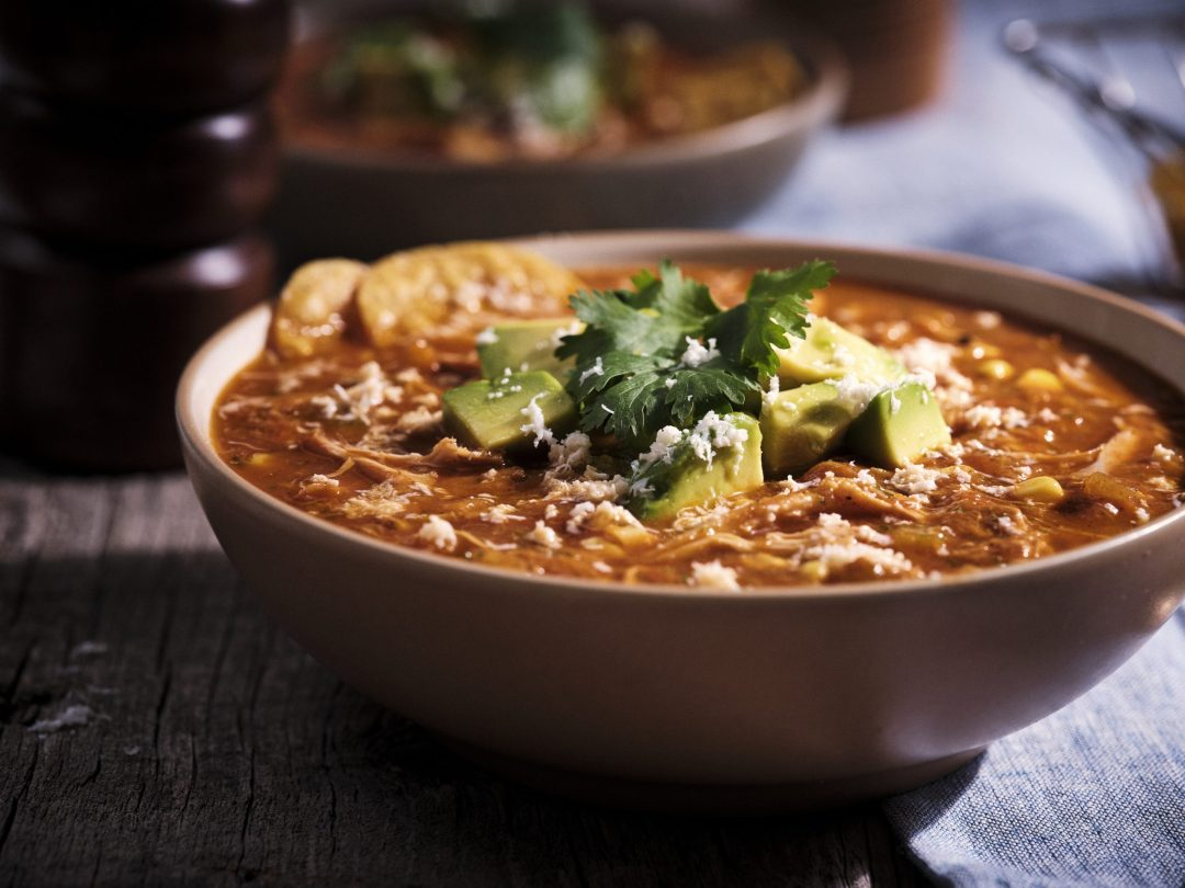 Senor Pepes chicken tortilla soup
