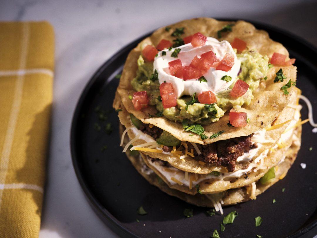 Senor Pepes tortilla stack