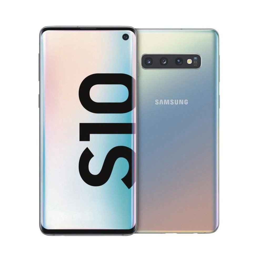 Samsung Galaxy S10 Silver e1576599605925