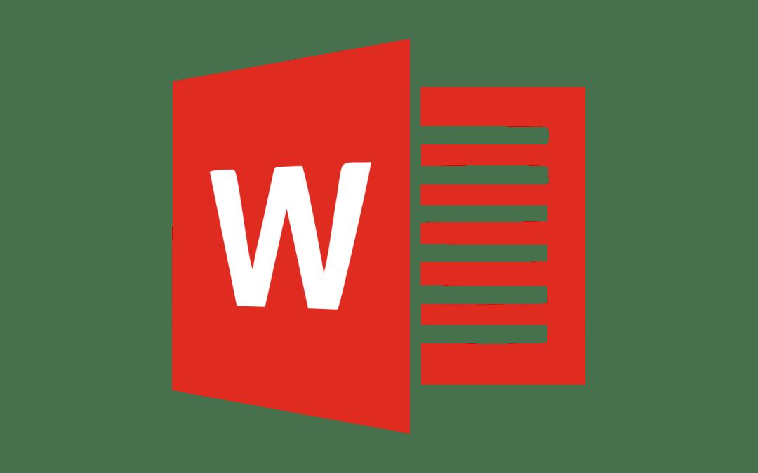 Word – test 7. třídy